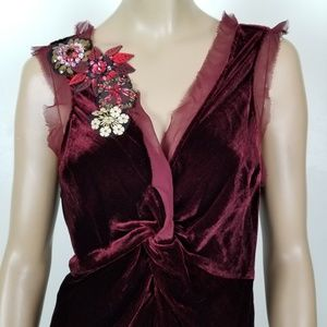 Anthropologie Dresses - Plenty By Tracy Reese Silk Embellished Dress M